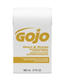 Gold & Klean Antimicrobial Lotion Soap, 12/cs