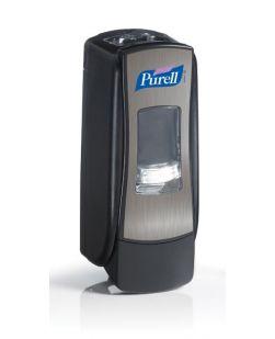 Dispenser, 700mL, Chrome/ Black, 6/cs (091227)