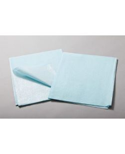 Drape Sheet, Tissue/ Poly, 30 x 48, Blue, 100/cs