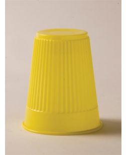 Plastic Cup, Yellow, 5 oz, 100/bg, 10 bg/cs