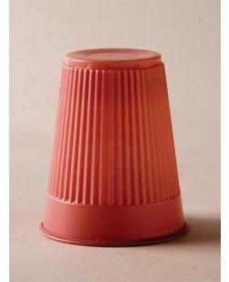 Plastic Cup, Mauve, 5 oz, 100/bg, 10 bg/cs