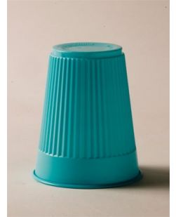 Plastic Cup, Blue, 3½ oz, 100/bg, 10 bg/cs