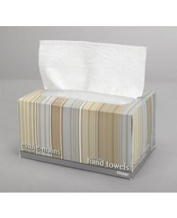 Hand Towel, Pop-Up Box, White 1-Ply, 9 x 10½, 70 sheet/bx, 18 bx/cs