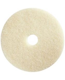 Burnishing Pad, 20, Beige, 5/bx (DROP SHIP ONLY)