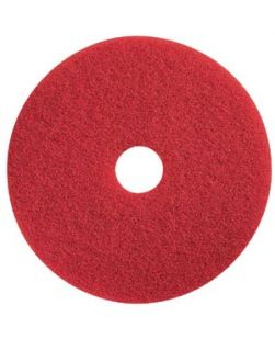 Buffing Pad, 20, Red, 5/bx (DROP SHIP ONLY)