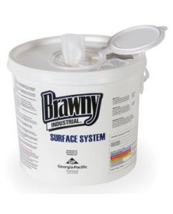 Brawny Industrial Surface System Bucket, 6/cs