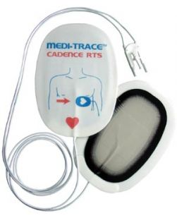 Defibrillation Electrode, Philips HP, 1 pr/pch, 10 pch/cs (Continental US Only)