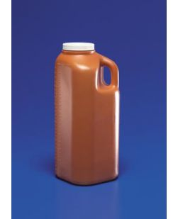 Specimen Collection Container, 3000mL Capacity, Screw Cap, Graduations, 40/cs (Continental US Only)