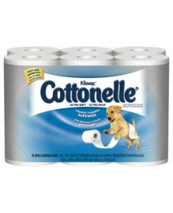 Cottonelle® Ultra Soft Bath Tissue, White, 12/pk, 4 pk/cs (30 cs/plt)