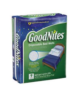 Bed Mats, 9/pk, 4 pk/cs