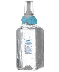 ADX? Instant Foam Hand Sanitizer, Skin Nourishing, 700mL, Clear, 4/cs (Item is considered HAZMAT and cannot ship via Air or to AK, GU, HI, PR, VI)
