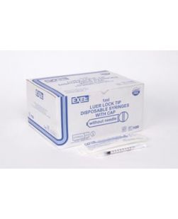 TB Syringe, ½,L, 28G x ½, 100/bx, 5 bx/cs (Continental US Only)