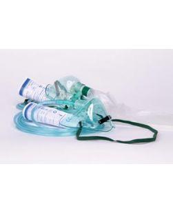 7 ft Oxygen Tubing, T Piece & Mouthpiece, 6 Corrugated Hose, Single Patient Use, 50/bx