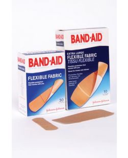 All One Size Flexible Fabric Adhesive Bandages, 30/bx, 24 bx/cs