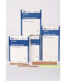 Fabric Adhesive Bandage, 1 x 3, 50/bx, 24 bx/cs (Continental US Only)