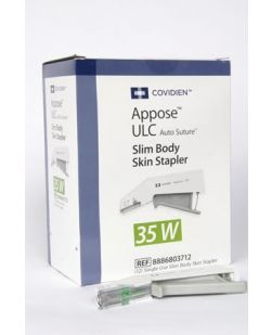 Skin Stapler, 35 Single Use, 6/bx (Continental US Only)