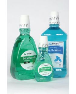 Amber Mouthwash, 1 Liter, 12/cs (48 cs/plt) (31886) (Item is considered HAZMAT and cannot ship via Air or to AK, GU, HI, PR, VI) (US Only)