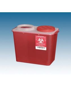 Big Mouth Container, 14 Qt Red, 10/cs
