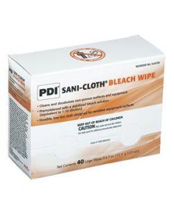 Bleach Germicidal Disposable Wipe, Large, 5 x 7, 40/pk, 10 pk/cs (72 cs/plt) (Minimum Expiry Lead is 90 days) (US Only)