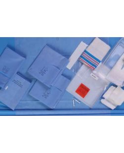 Basic Pack I Includes: Reinforced 23 x 54 Mayo Stand Cover, Suture Bag, Zone-Reinforced 50 x 90 Back Table Cover, 32 pk/cs