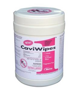 CaviWipe? Bleach,  6 x 10.5, 90 singles/ctn, 12 ctn/cs (30 cs/plt)