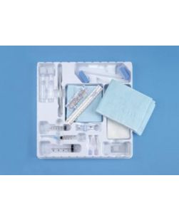 Basic Biopsy Tray Sterile Includes 25G x 58 Needle 3cc Syringe 22G x 1  20Gg x 1 Needles 6cc  20cc L