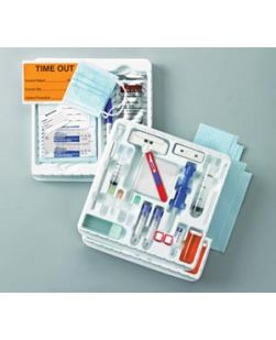 Bone Marrow Tray, J-Style & I-Style Needles, Sterile, 10/cs