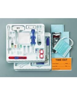 Bone Marrow Tray, J-Style & I-Style Needles, (1) Luer Lock Adapter, (8) Gauze Pads, Sterile, 10/cs