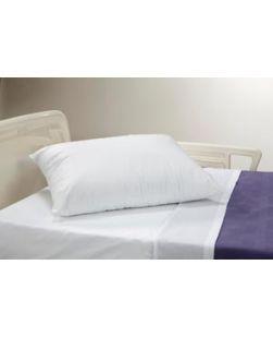 Pillow, White, 19 x 25, Medium Loft, 12/cs