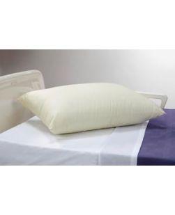 Pillow, Beige, 21 x 27, Medium Loft, 12/cs