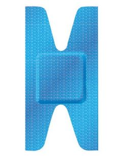Adhesive Bandage, Knuckle, 50/tray, 24 tray/cs