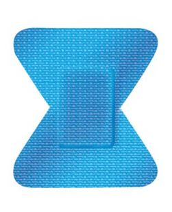 Adhesive Bandage, Fingertip, 2, 50/tray, 24 tray/cs