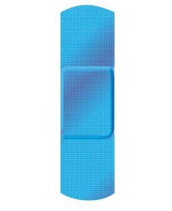 Adhesive Bandage, 1 x 3, Flexible Fabric, Bulk, 1300/cs