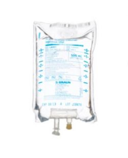 500mL 20% Mannitol Injection (Rx), 24/cs (Product on Vendor Allocation - Shortage - Contact us for Availability)