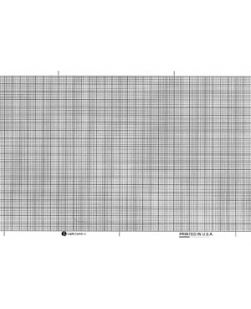 Chart Paper, Marquette? 9402-023, 4¼ x 75 ft, Red Grid, 18/cs