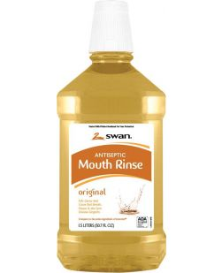 Amber Mouthwash, 1.5 Liter, 6/cs (75 cs/plt) (31812) (US Only)