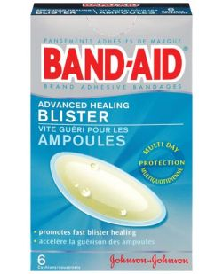 Advanced Healing Blister Adhesive Bandages, 1 4/25 x 2 4/25,  6/bx, 24/cs