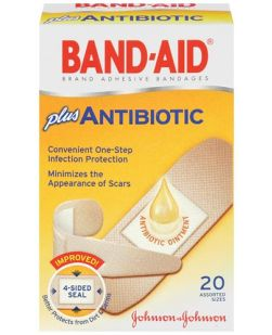 Adhesive Bandages, Assorted Sizes, 20/bx, 24 bx/cs