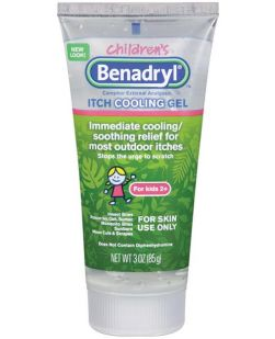 Benadryl Anti-Itch Gel, Kids, 3 oz, 6/bx, 4 bx/cs