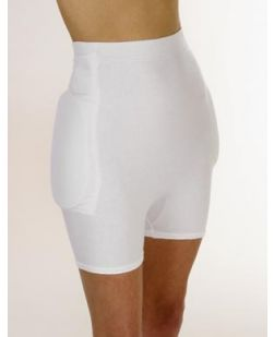 Hip Protective Garment, Small/ Medium, White, 24/cs