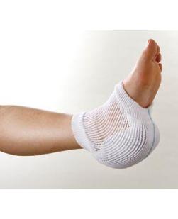 Heel, Elbow or Knee Garment, Small/ Medium, White/ Aqua, Latex Free, 12 pr/cs