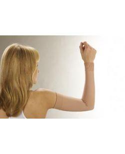 Lymphedema Arm Garment, Large, Beige, Latex Free (LF), 6 pr/cs