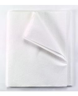 Equipment Drape Sheet/ Stretcher Sheet, Tissue/ Poly, 60 x 96, White, 25/cs