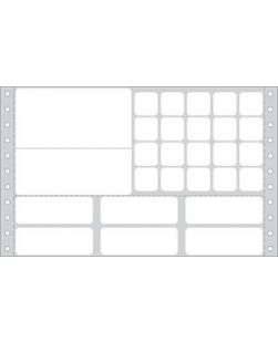 Labeling For Sunquest? Lab Information Systems (the FLEXiLAB? system), 5½ x 8 3/16 (Work Card, All Label Form), Glove Adhesive® Labels For Dot Matrix Printers (9 carrier width), 1,000/bx