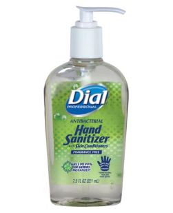 Hand Sanitizer w/ Moisturizers, Pump, 7.5 oz, 12/cs (Item is considered HAZMAT and cannot ship via Air or to AK, GU, HI, PR, VI)