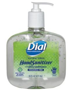 Hand Sanitizer w/ Moisturizers, Pump, 16 oz, 8/cs (2340000213) (Item is considered HAZMAT and cannot ship via Air or to AK, GU, HI, PR, VI)