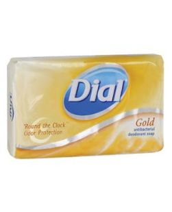Bar Soap, Antibacterial, Gold, Retail Wrapped, 3.5 oz, 72/cs