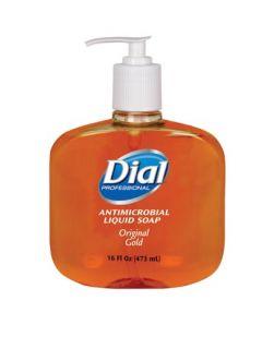 Gold Liquid Hand Soap, Antimicrobial, Pump, 16 oz, 12/cs (60 cs/plt) (23400080790, 1159413, 1937897)