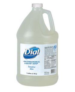 Sensitive Skin Liquid Hand Soap, Antimicrobial, 1 Gallon, 4/cs (48 cs/plt) (2340082838, 1747050, 1937893)
