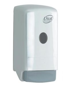 Soap Dispenser, 2000 ml, Push Style, Graphite, 6/cs